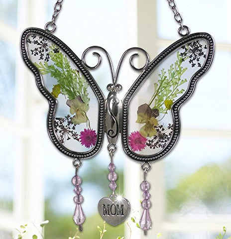 Mom Butterfly Suncatcher