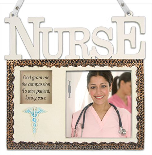 Nurse Hanging Picture Frame Plaque - Beautiful Tribute to a Loved Nurse