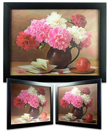 Bouquet of Carnation Flowers Holographic Painting