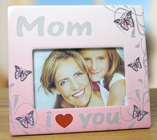 I Love You Mom Frame - 4 x 6 Mom Picture Frame