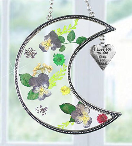 I Love You to the Moon and Back Suncatcher
