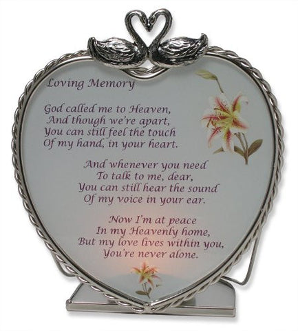 Loving Memory Bereavement Memory Candle Holder(1886)