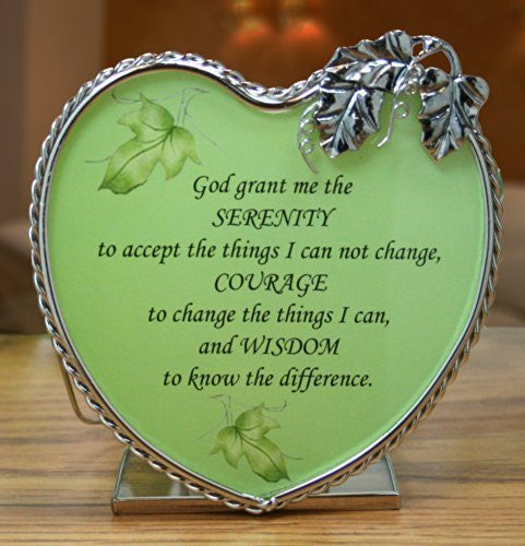Serenity Prayer Candle Holder