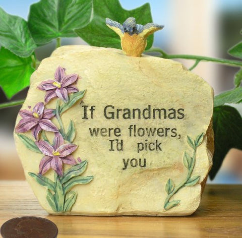 "Grandma Message Stone 3 1/2"" H"