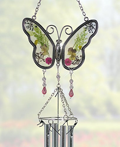 Butterfly Suncatcher Windchime