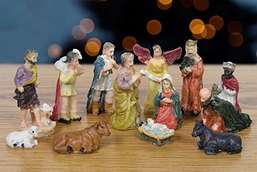 Nativity Figurine Set 13 Pieces