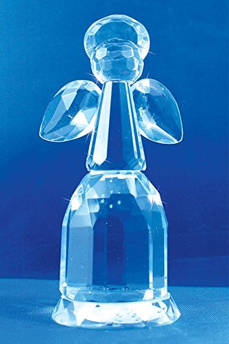 Crystal Angel Figurine Ornament Faceted