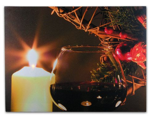 LED Canvas Print - Light Up Picture