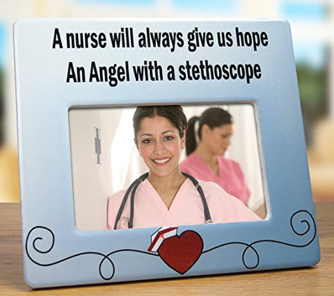 Nurse Picture Frame - Ceramic Picture Frame - Perfect gift for that Special Nurse(2320)