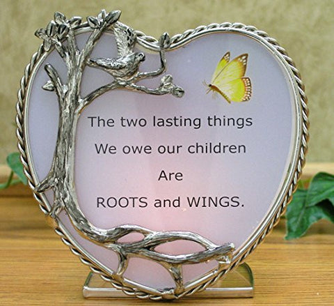 Children's Candleholder Pewter Heart