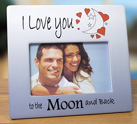 I Love You to the Moon and Back Picture Frame(2347)