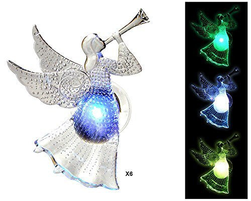 LED Angels with Color Changing Lights