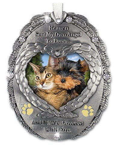 Loving Memory Pet Photo Remembrance Ornament