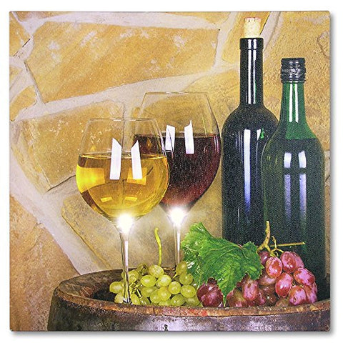 LED Canvas Print - Light Up Picture for the Kitchen