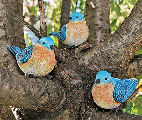 Bluebird Figurines - Set of 3