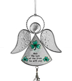 Irish Angel Suncatcher Wind Chime Stained Glass(7101)