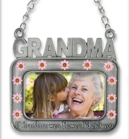 Grandma Photo Frame Ornament