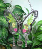 garden butterfly suncatcher gift for mom