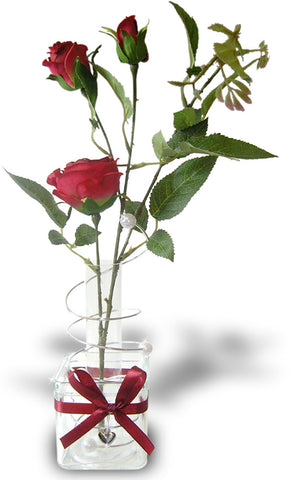 Red Rose Tabletop Decoration