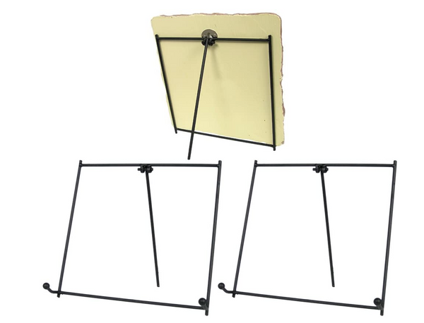 Black Metal Easel (5 Inch) Pack of 3 Pieces