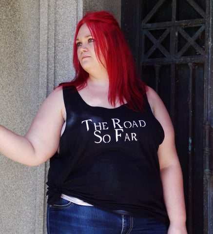 Supernatural The Road So Far Tank Top, Fandom Shirt. Unisex Sizing.