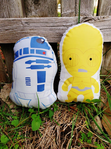 The Droids Pillow Pals.