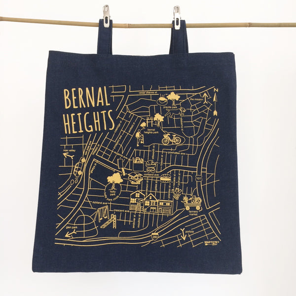 Bernal Heights Denim Tote