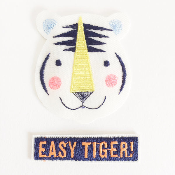 Easy Tiger Patches