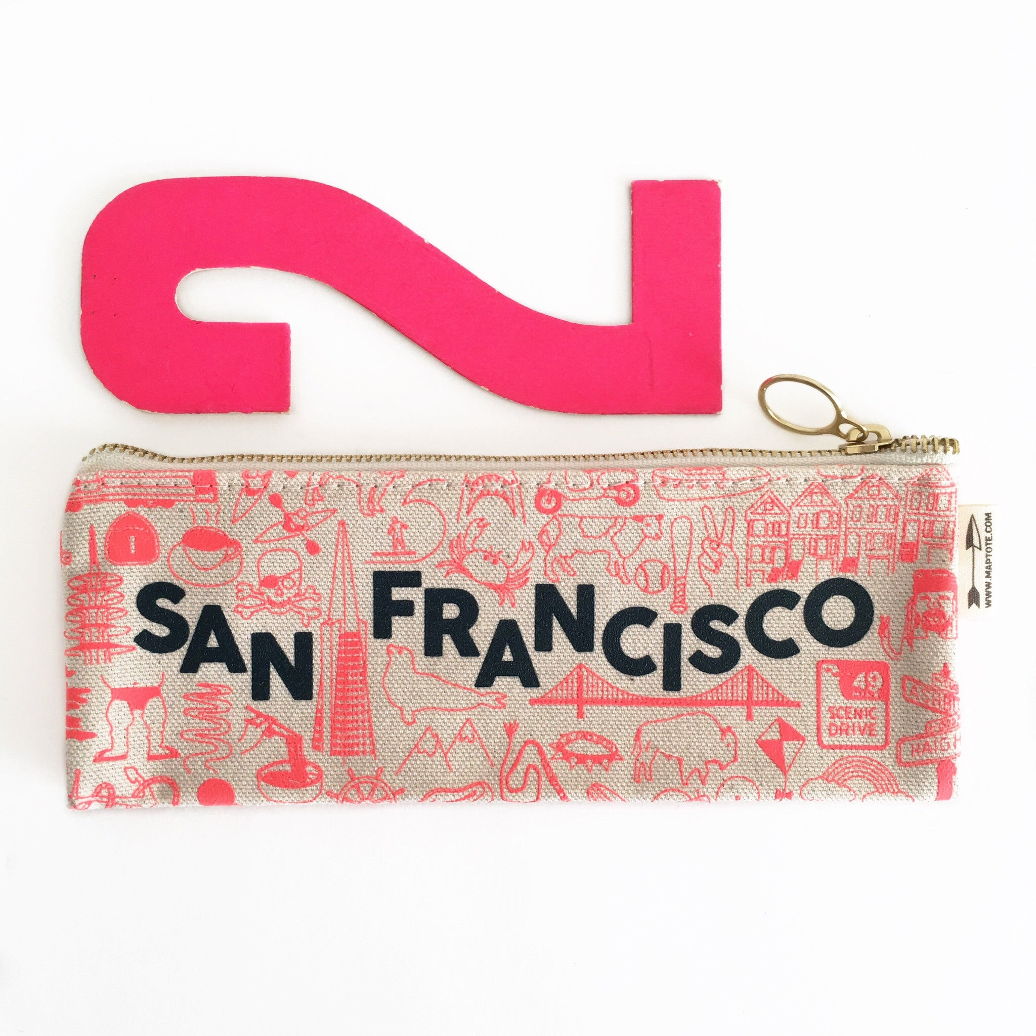San Francisco Pencil Pouch