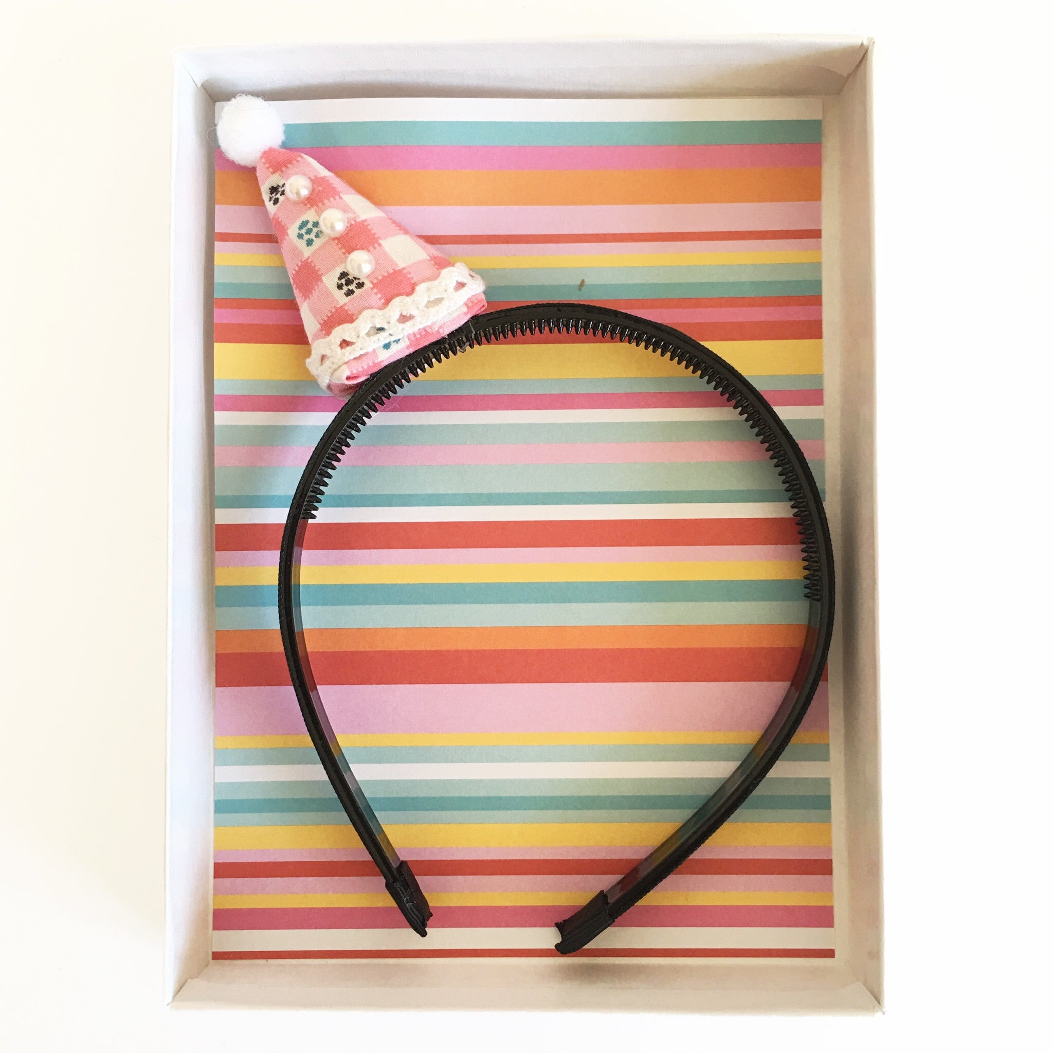Tiny Party Hat Headband
