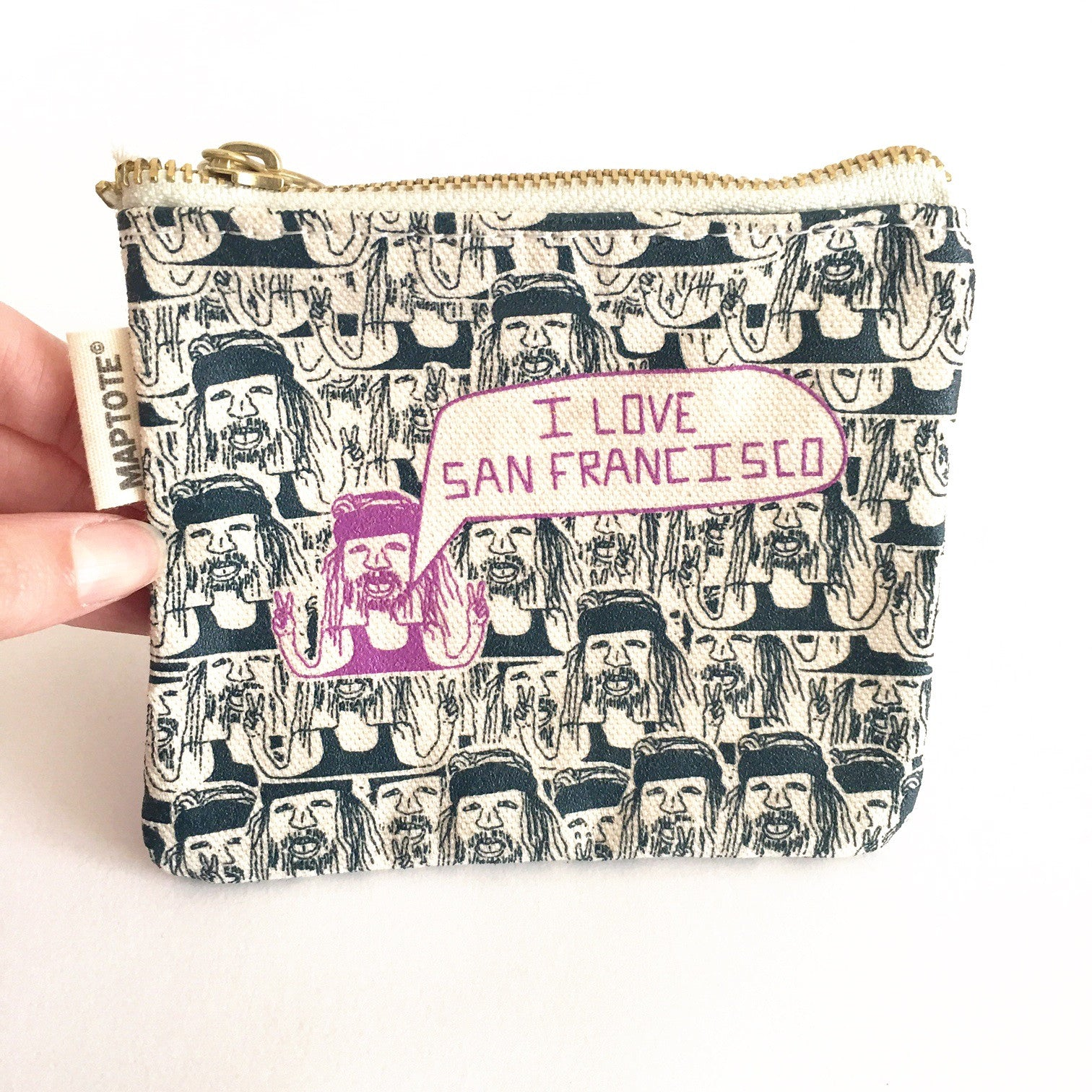 San Francisco Hippie Coin Purse