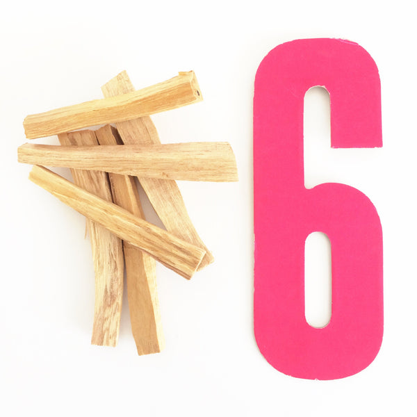 Bundle of 6 Palo Santo Sticks