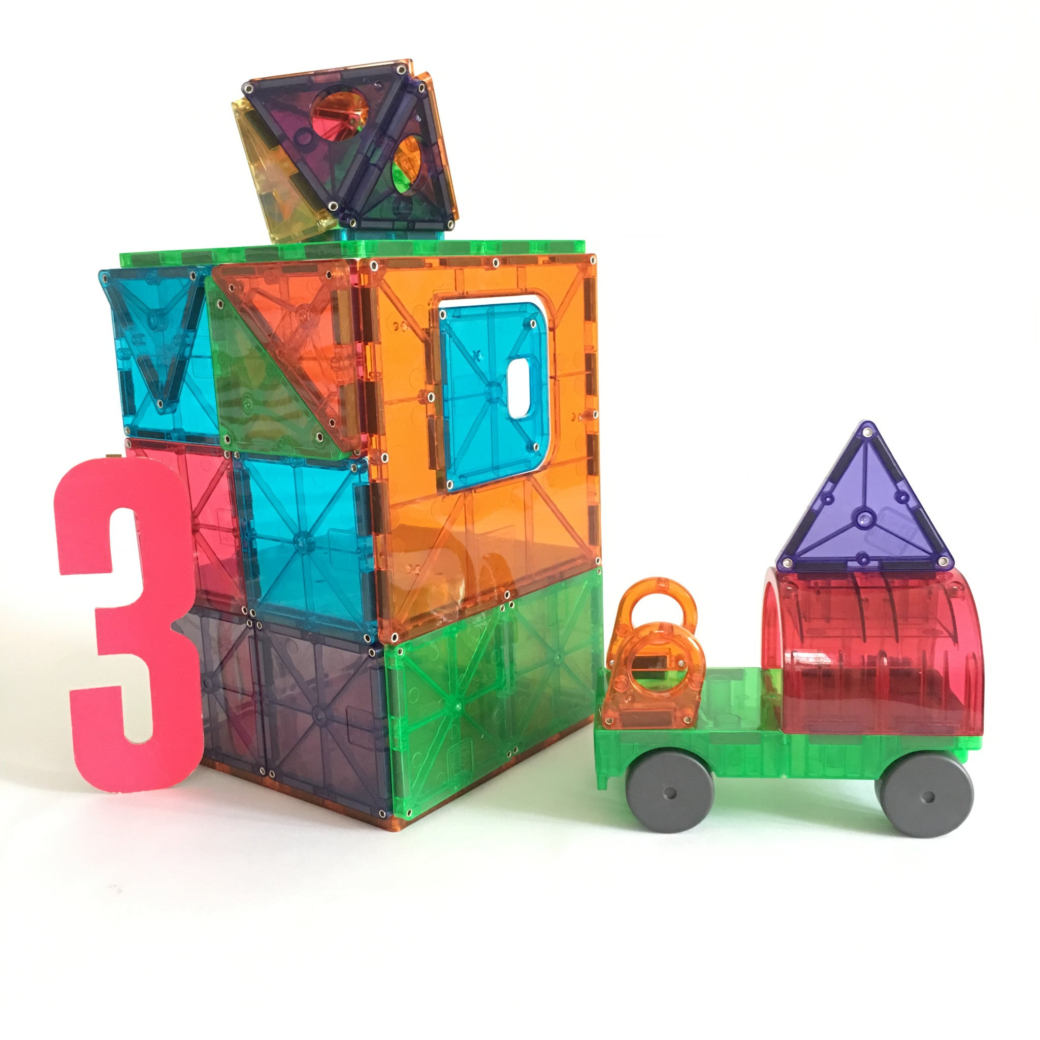 Magna-Tiles DX 48 Piece Set