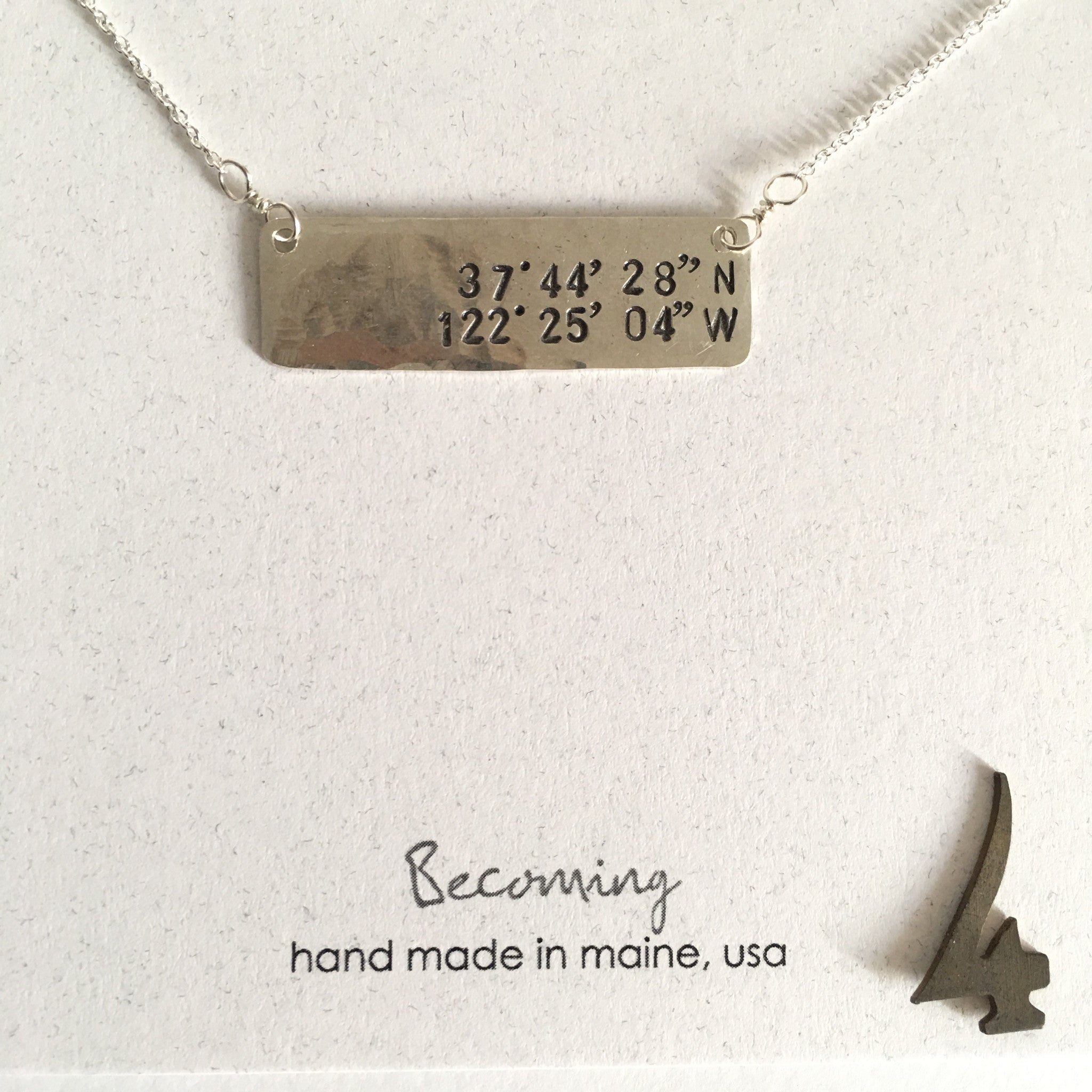 Bernal Hill Coordinates Necklace