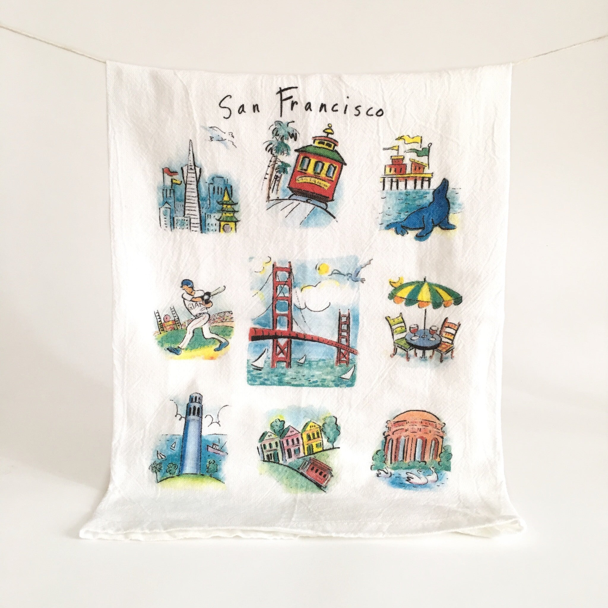 San Francisco Dish Towel