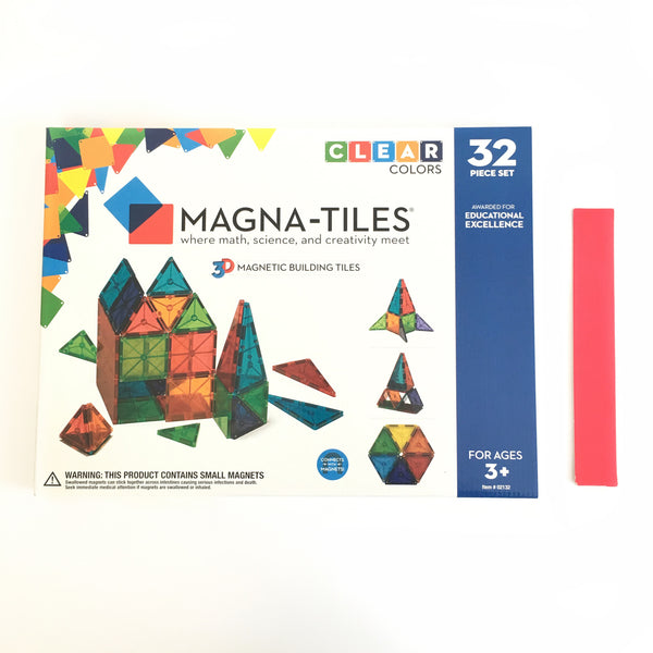 32 Piece Set Magna-Tiles