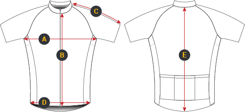 Cycling apparel bike jersey
