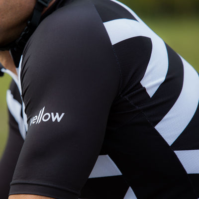 Cycling jersey - vellow bike apparel