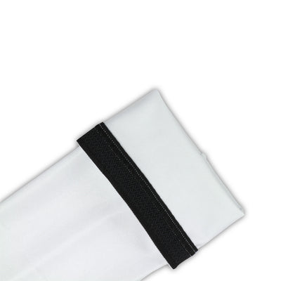 Cycling Arm Screens - Unisex (White) vellow