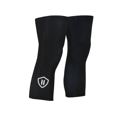 Cycling Knee Warmers - Unisex (Black) - vellow bike apparel
