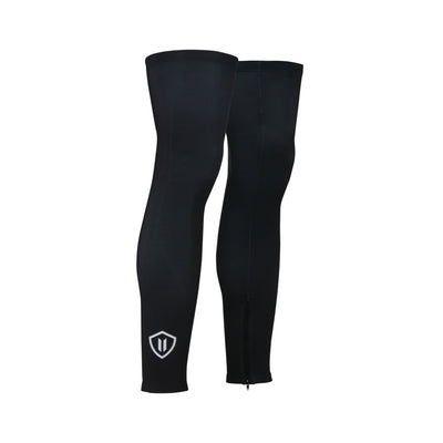 Cycling Leg Warmers - Unisex (Black) - vellow bike apparel