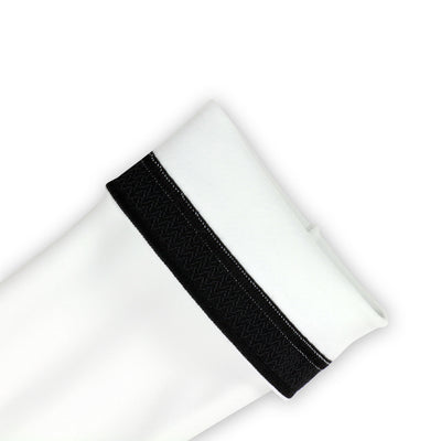 Cycling Arm Warmers - Unisex (White) vellow