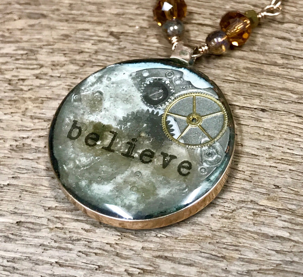 Believe Necklace Item# N5800-2