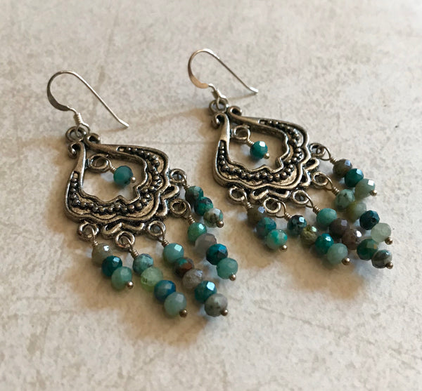 Chandlier Earrings Item# 2700-1