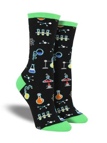 All The Solutions Crew Socks
