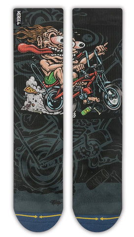 Jimbo Bike Freak Crew Socks