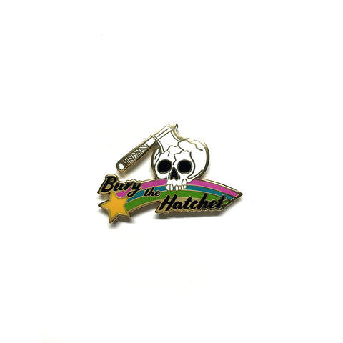 Bury The Hatchet Pin