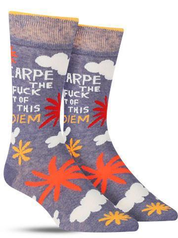 Carpe The Fuck Out of This Diem Crew Socks