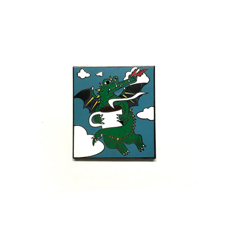 Coffee Dragon Pin