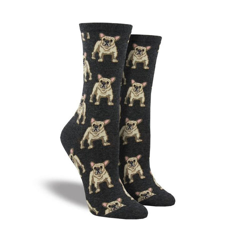 Frenchie Crew Socks